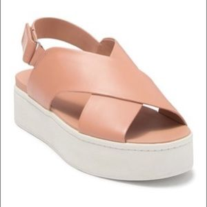 Vince Weslan Sandals Blush (Pink) - Size 8